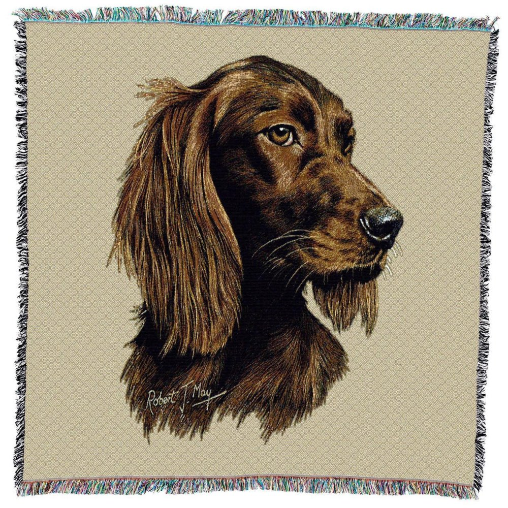 Irish Setter Throw