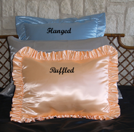 Satin Pillow Shams Satin Shams