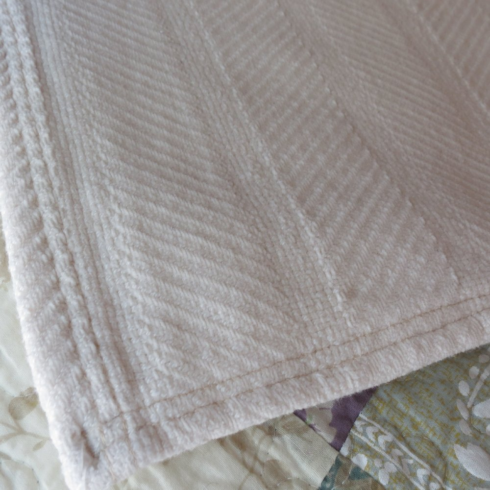 Chenille Organic Cotton Blanket