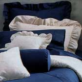 200TC Ruffled Pillow Shams