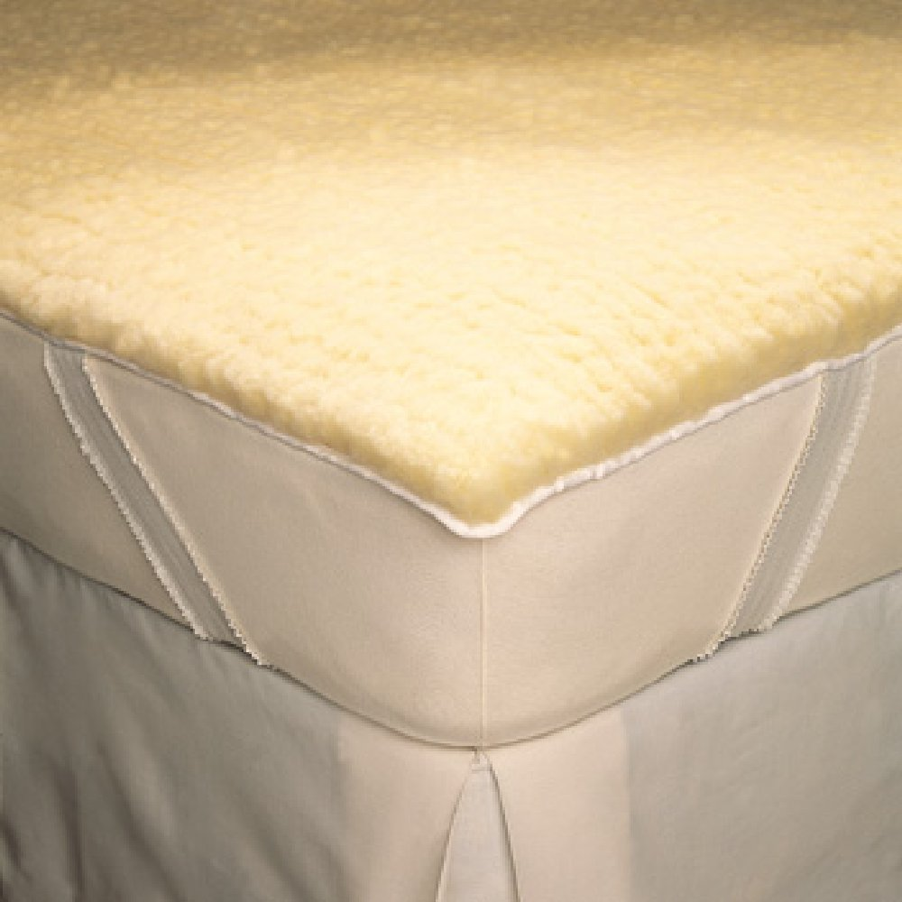 SnugFleece II Wool Mattress Pads